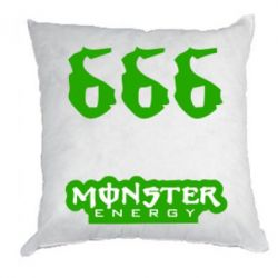 Подушка Devil Monster Energy