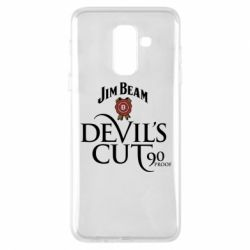 Купить Jim Beam, Чехол для Samsung A6+ 2018 Devil's cut 90 proof, FatLine