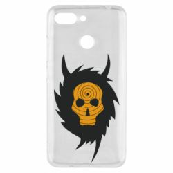 Чехол для Xiaomi Redmi 6 Devil skull rock