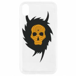 Чехол для iPhone XR Devil skull rock