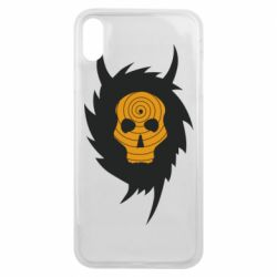 Чехол для iPhone Xs Max Devil skull rock