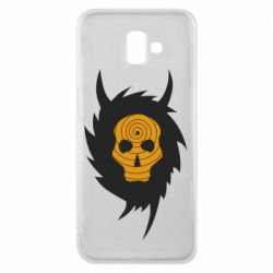 Чехол для Samsung J6 Plus 2018 Devil skull rock