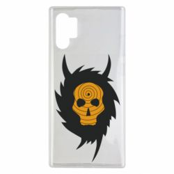 Чехол для Samsung Note 10 Plus Devil skull rock