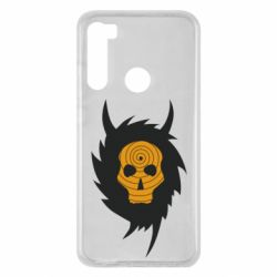 Чехол для Xiaomi Redmi Note 8 Devil skull rock