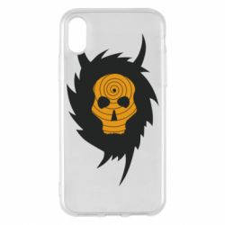 Чехол для iPhone X/Xs Devil skull rock
