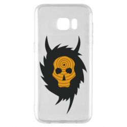 Чехол для Samsung S7 EDGE Devil skull rock