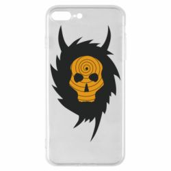 Чехол для iPhone 8 Plus Devil skull rock