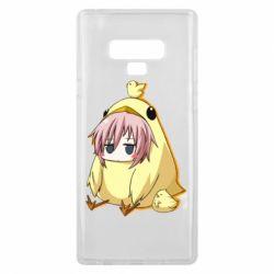 Чохол для Samsung Note 9 Дівчинка з курчам