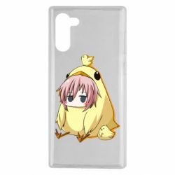 Чохол для Samsung Note 10 Дівчинка з курчам