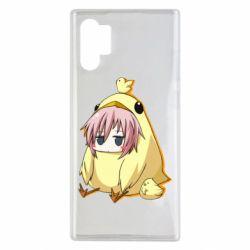 Чохол для Samsung Note 10 Plus Дівчинка з курчам