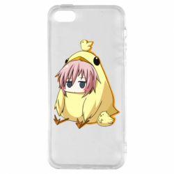 Чохол для iphone 5/5S/SE Дівчинка з курчам