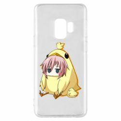 Чохол для Samsung S9 Дівчинка з курчам