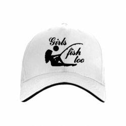 Кепка Девушки тоже рыбачат - FatLine