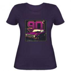Женская футболка Девяностые