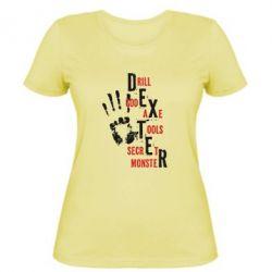Женская футболка Dexter - FatLine