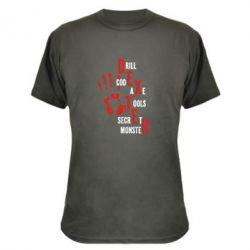 Камуфляжная футболка Dexter - FatLine