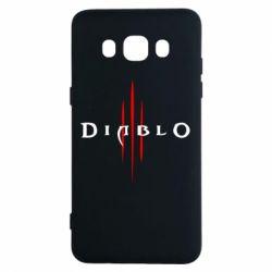 Чехол для Samsung J5 2016 Diablo 3