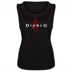 Женская майка Diablo 3 - FatLine