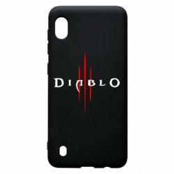Чехол для Samsung A10 Diablo 3