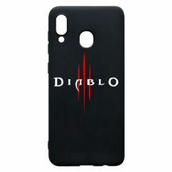 Чехол для Samsung A20 Diablo 3