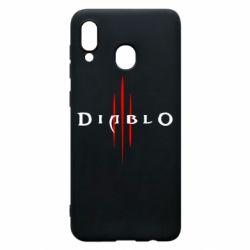 Чехол для Samsung A30 Diablo 3