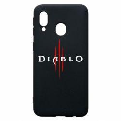 Чехол для Samsung A40 Diablo 3