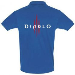 Мужская футболка поло Diablo 3
