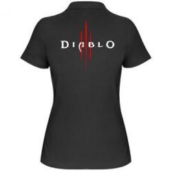 Женская футболка поло Diablo 3