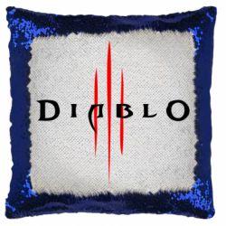 Подушка-хамелеон Diablo 3