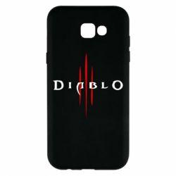 Чехол для Samsung A7 2017 Diablo 3