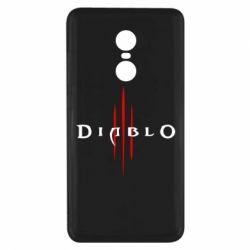 Чохол для Xiaomi Redmi Note 4x Diablo 3