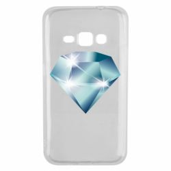 Чехол для Samsung J1 2016 Diamond with highlights