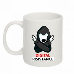 Кружка 320ml Digital Resistance