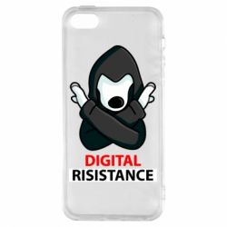 Чохол для iphone 5/5S/SE Digital Resistance
