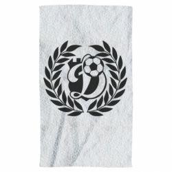 Полотенце Динамо Киев: мяч, колоски лого