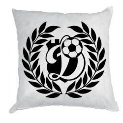 Подушка Динамо Киев: мяч, колоски лого