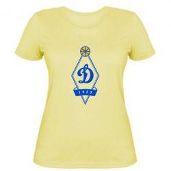 Женская футболка Динамо - FatLine