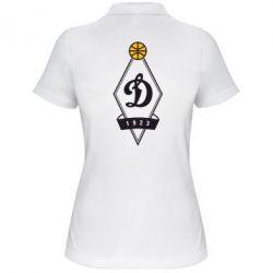 Женская футболка поло Динамо - FatLine