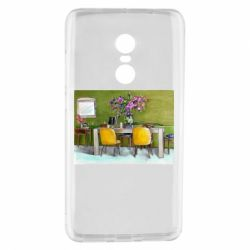 Чехол для Xiaomi Redmi Note 4 Dining table with flowers