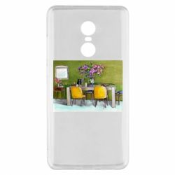 Чехол для Xiaomi Redmi Note 4x Dining table with flowers
