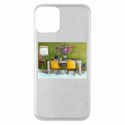 Чохол для iPhone 11 Dining table with flowers