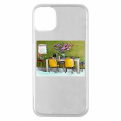 Чохол для iPhone 11 Pro Dining table with flowers