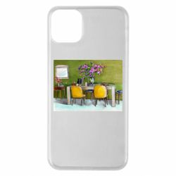 Чохол для iPhone 11 Pro Max Dining table with flowers