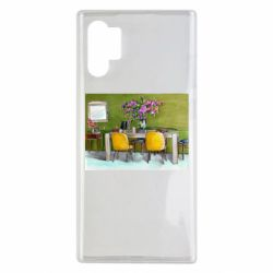 Чохол для Samsung Note 10 Plus Dining table with flowers