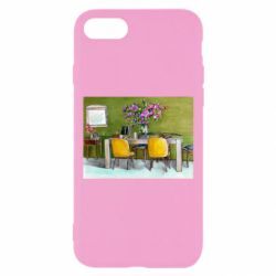 Чохол для iPhone 7 Dining table with flowers