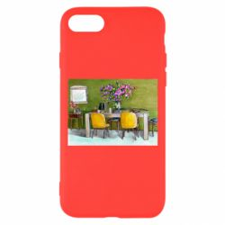 Чохол для iPhone 8 Dining table with flowers
