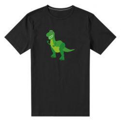 Мужская стрейчевая футболка Dino toy story