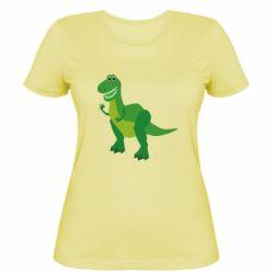 Женская футболка Dino toy story