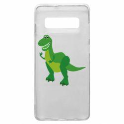 Чехол для Samsung S10+ Dino toy story
