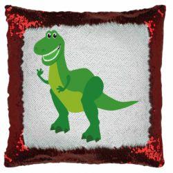 Подушка-хамелеон Dino toy story